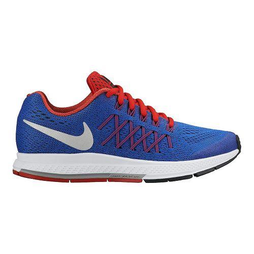 Kids Nike Air Zoom Pegasus 32 (GS) Running Shoe - Blue/Orange 4.5