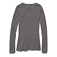 Womens Under Armour Long and Lean Novelty Long Sleeve No Zip Technical Tops