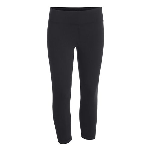 Womens Under Armour Studio Capri Tights - Black L