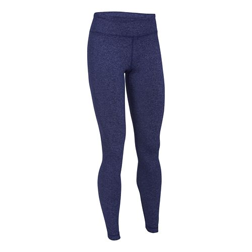 Womens Under Armour Studio Legging Full Length Tights - Europa Purple XL