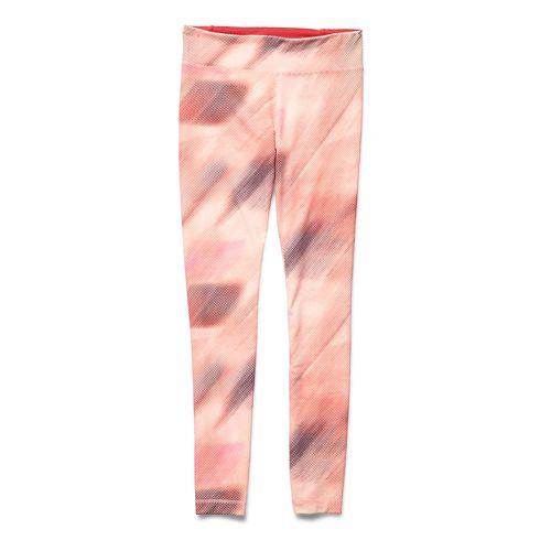 Womens Under Armour Studio Printed Legging Full Length Tights - Dark Orange XL