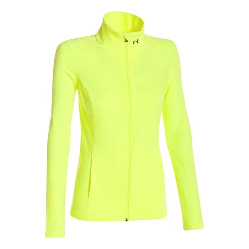 Womens Under Armour Studio Lightweight Jackets - X-Ray XS