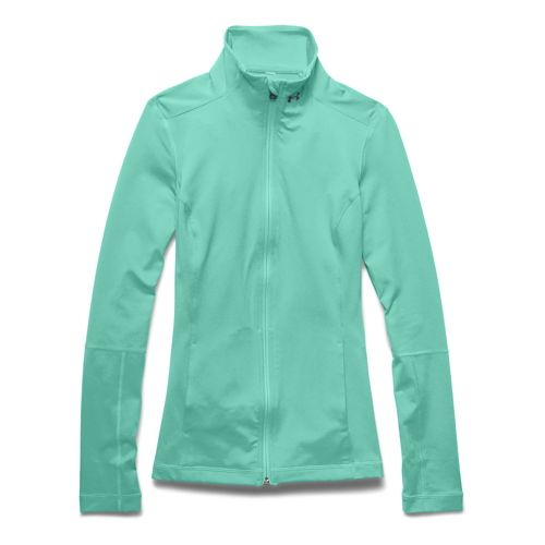 Womens Under Armour Studio Lightweight Jackets - Crystal S