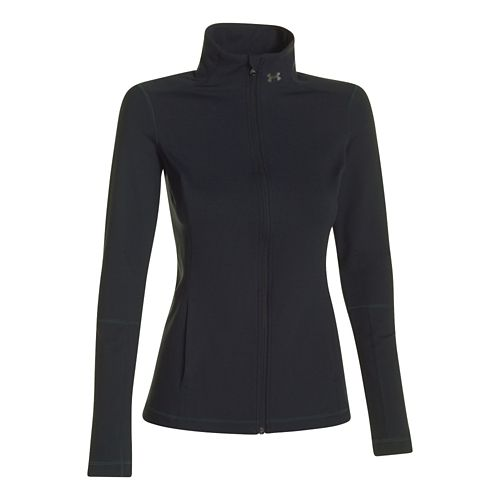 Womens Under Armour Studio Lightweight Jackets - Crystal L