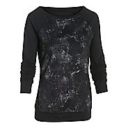 Womens Under Armour Take-a-Chance Novelty Crew Long Sleeve No Zip Technical Tops