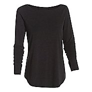 Womens Under Armour Transit T Long Sleeve No Zip Technical Tops
