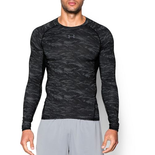 Men's Under Armour�HeatGear Longsleeve Compression Printed
