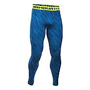 Mens Under Armour HeatGear Compression Printed Leggings Tights