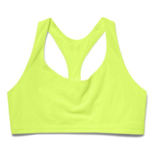 Womens Under Armour Light as Air Sports Bras - X-Ray/Hyper Green XL