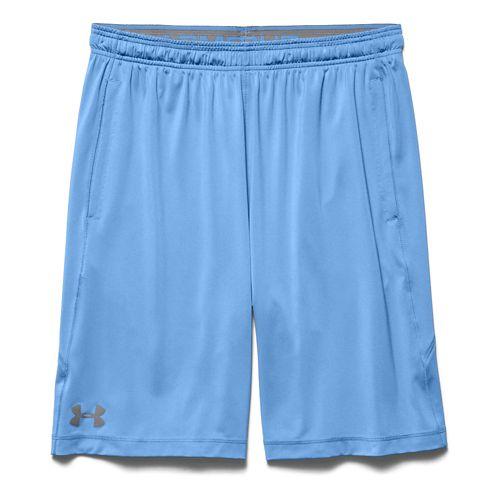 Mens Under Armour Raid Unlined Shorts - Carolina Blue M