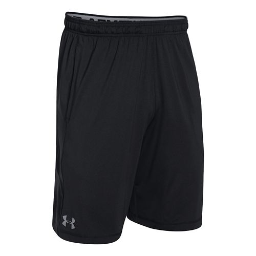 Mens Under Armour Raid Unlined Shorts - Island Blues/Black XXL