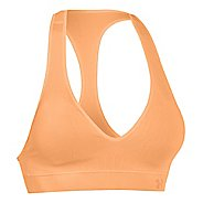 Womens Under Armour Seamless Plunge Sports Bras - Afterglow XL
