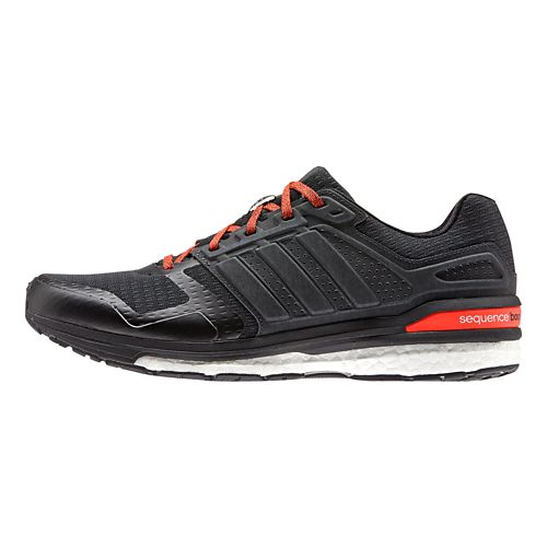 Mens adidas Supernova Sequence 8 Boost Running Shoe - Black/Black 9