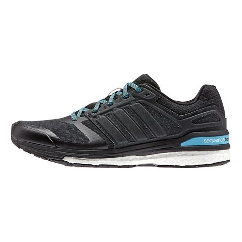 Womens adidas Supernova Sequence 8 Boost Running Shoe - Black/Black 6