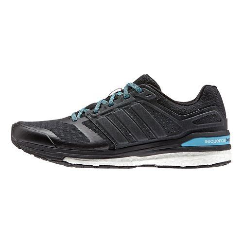 Womens adidas Supernova Sequence 8 Boost Running Shoe - Black/Black 8.5