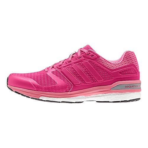 Womens adidas Supernova Sequence 8 Boost Running Shoe - Bold Pink/Pink 11