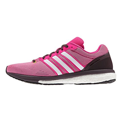 Womens adidas Adizero Boston 5 Boost TSF Running Shoe - Mineral Red/Onix 10