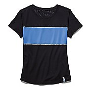 Womens Under Armour Fly Fast Mesh Short Sleeve Technical Tops