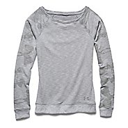 Womens Under Armour Kaleidalogo Pullover Long Sleeve No Zip Technical Tops