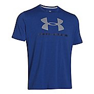 Mens Under Armour Charged Cotton SportsStyle Logo Tee Short Sleeve Technical Tops