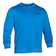 Mens Under Armour Fleece Crew Long Sleeve Sweater Technical Tops