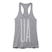 Womens Under Armour Charged Cotton Big UA Tank Technical Tops