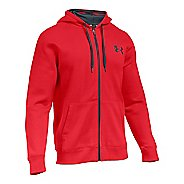 Mens Under Armour Rival Cotton Full Zip Hoodie & Sweatshirts Technical Tops