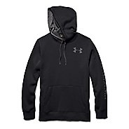 Mens Under Armour Rival Cotton Graphic Warm Up Hooded Jackets