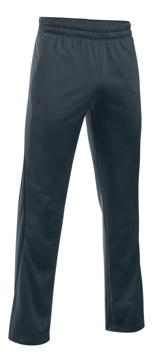 Mens Under Armour Light Weight Warm-Up Pants - Stealth Grey/Black XL