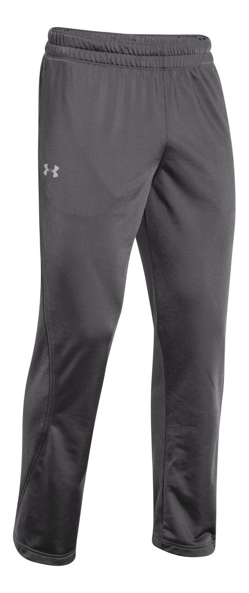 Mens Under Armour Light Weight Warm-Up Pants - Graphite/Black M