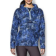 Womens Under Armour Storm PopOver Printed Warm Up Hooded Jackets