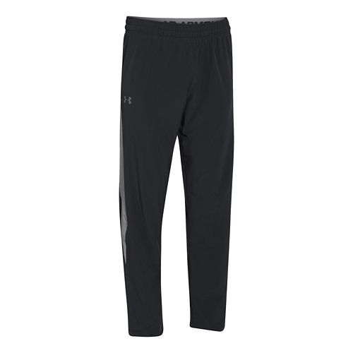 Mens Under Armour Pulse 2.0 Full Length Pants - Black/Graphite S-R