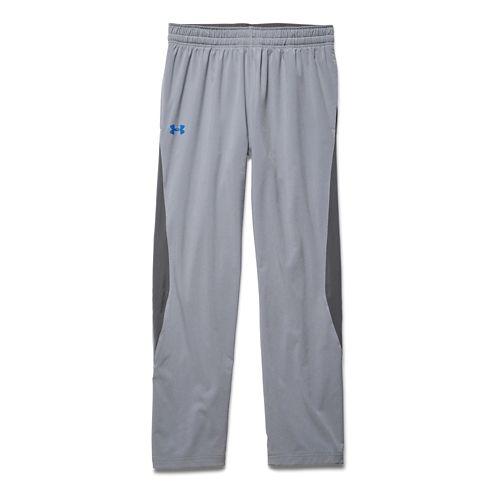 Mens Under Armour Pulse 2.0 Full Length Pants - Steel/Graphite XL-R
