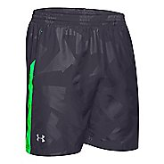 "Mens Under Armour Launch 7"" Woven Lined Shorts"