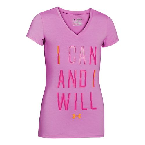 Kids Under Armour�I Can and I Will V-Neck