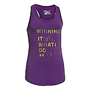Kids Under Armour Winning Tank Technical Tops