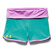 Kids Under Armour Hype Rollover Split Shorts