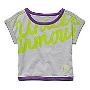 Kids Under Armour Cozy Crew Short Sleeve Technical Tops