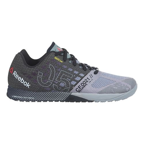 Mens Reebok CrossFit Nano 5.0 Cross Training Shoe - Grey/Black 10.5