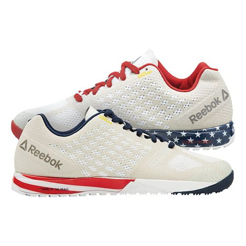 Mens Reebok CrossFit Nano 5.0 Cross Training Shoe - Cream 8