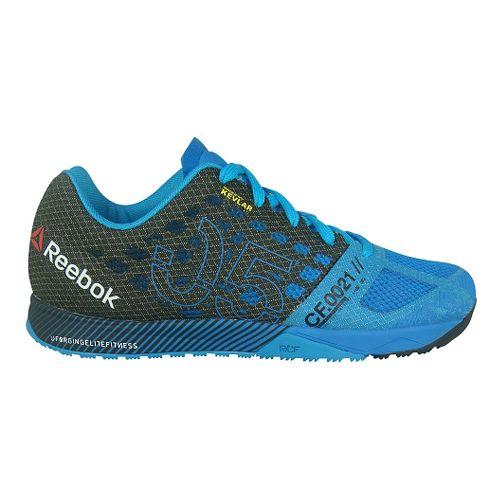 Mens Reebok CrossFit Nano 5.0 Cross Training Shoe - Blue/Black 10