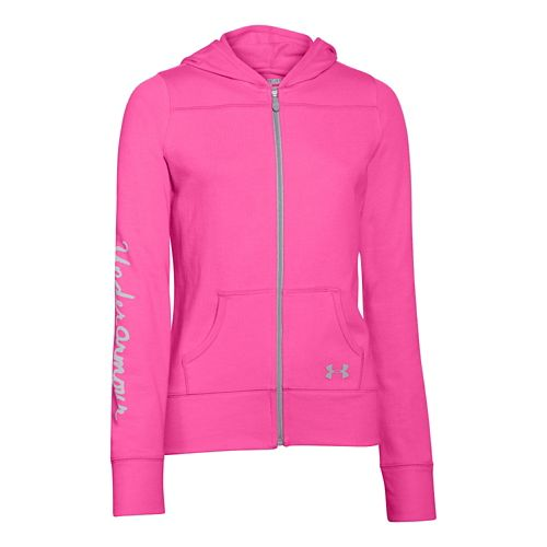 Kids Under Armour Downtown Hoody Jackets - Chaos/Chaos YL