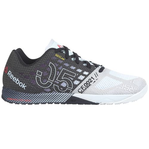 Womens Reebok CrossFit Nano 5.0 Cross Training Shoe - White/Black 6