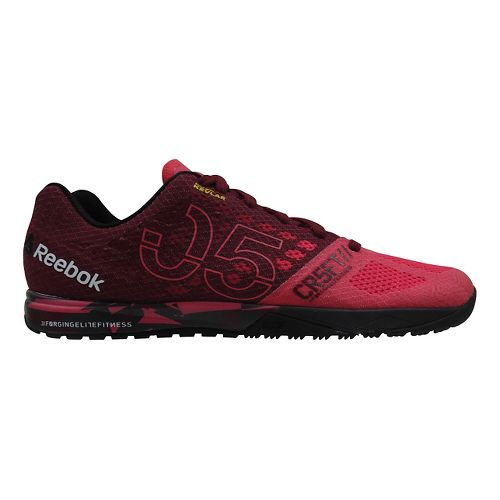 Womens Reebok CrossFit Nano 5.0 Cross Training Shoe - Pink/Black 10