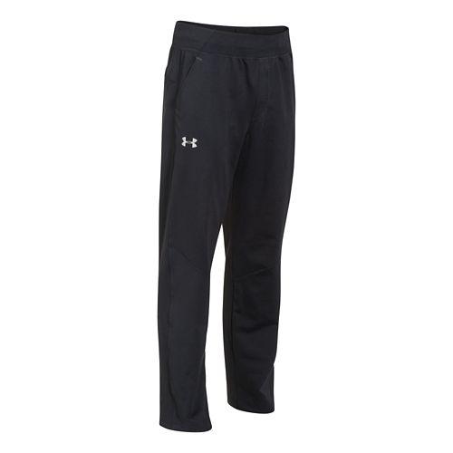 Mens Under Armour Status Knit Full Length Pants - Black XXL-R