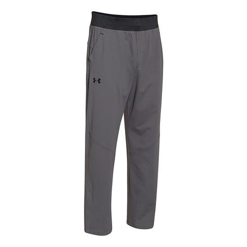 Mens Under Armour Status Knit Full Length Pants - Graphite XXL-R