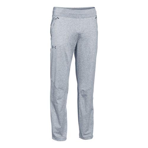 Mens Under Armour Status Knit Full Length Pants - Steel XXL-T