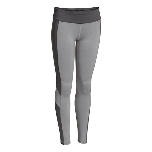 Kids Under Armour Rally Legging Full Length Tights - After Burn/Gray YM