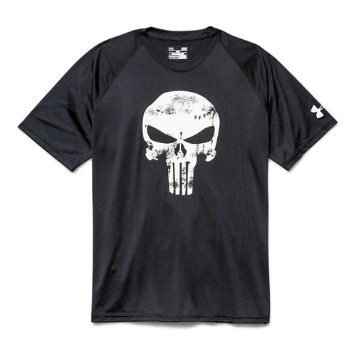 Mens Under Armour Alter Ego Punisher Tee Short Sleeve Technical Tops - Black L