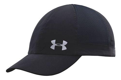 Womens Under Armour Flyfast Cap Headwear - Black